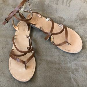 Mossimo Brown Strappy Sandals